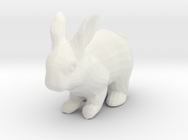Rabbit in White Strong & Flexible