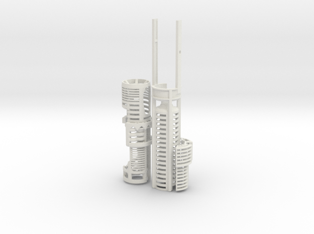 ASK-SHIEN-CS - NWX Ahsoka large CS kit in White Natural Versatile Plastic