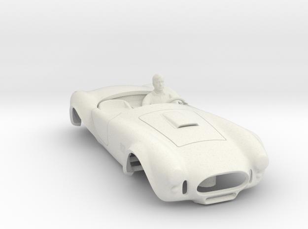 427 Cobra Body: Fits AFX MegaG 1.7