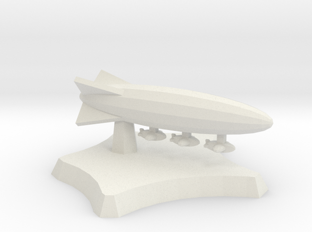 Carrier airship in White Natural Versatile Plastic