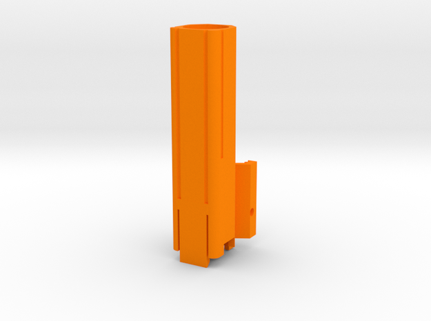 Helio M726-A (Long) in Orange Processed Versatile Plastic