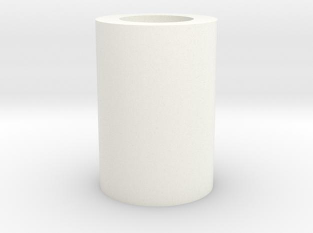 Toilet Paper in White Processed Versatile Plastic