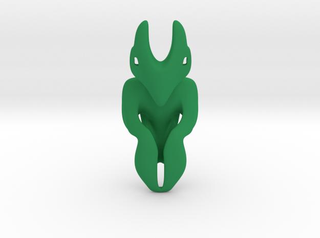 Artifact 3 in Green Processed Versatile Plastic