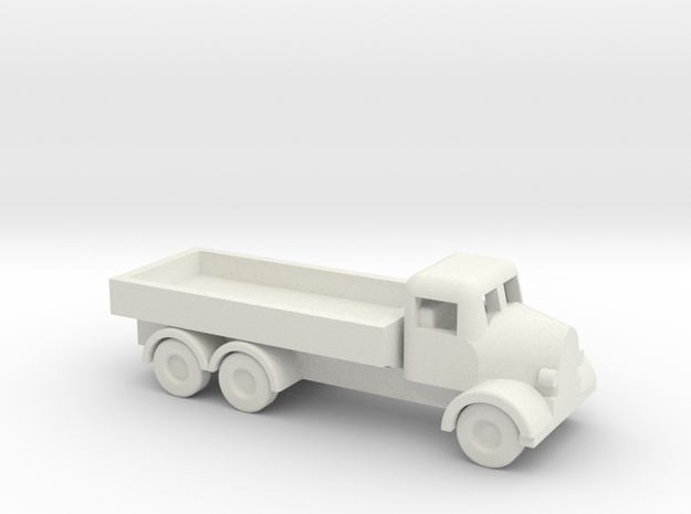 1/144 Scale Austin K6 Cargo Truck in White Natural Versatile Plastic