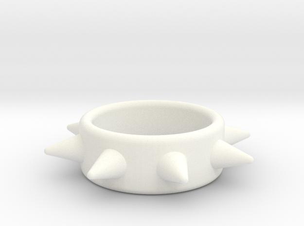 Cring-8 Spike 32-15 in White Processed Versatile Plastic