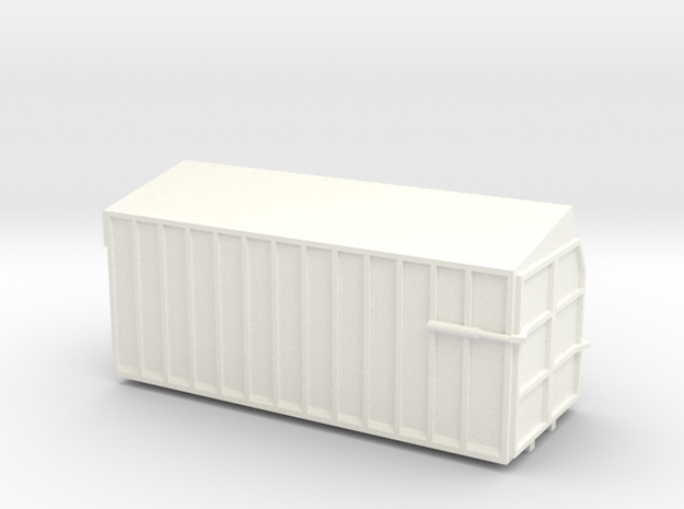 Danco Forage Box 20' in White Processed Versatile Plastic