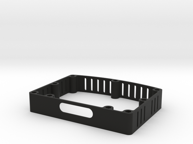 "5"" LCD-HDMI-Enclosure-OSW in Black Natural Versatile Plastic"