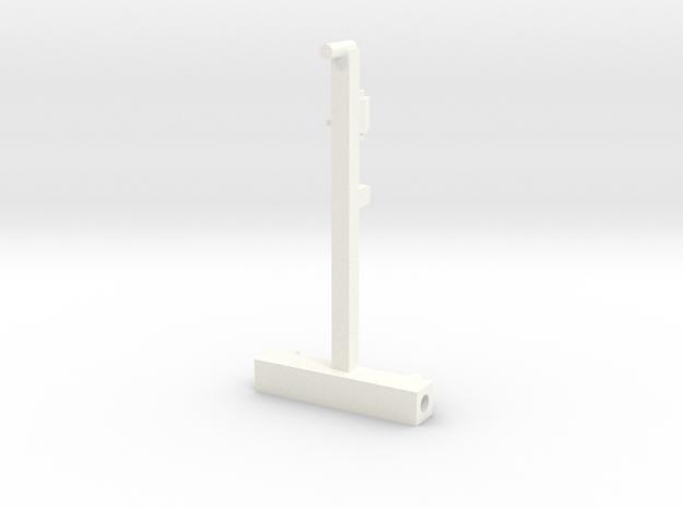 Better Bilt Manure Spreader Frame in White Processed Versatile Plastic