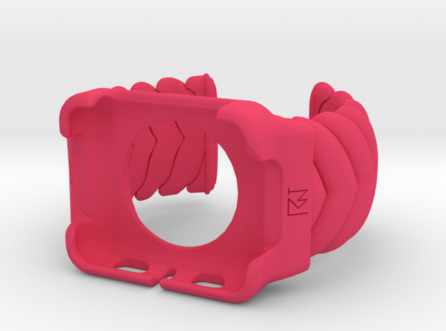 V CUFF  Small Iwatch 42mm Case  in Pink Processed Versatile Plastic