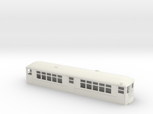 CTA 4000 Series Baldie- As Built in White Natural Versatile Plastic