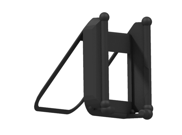 iPhone 5 Holder 3d printed Black