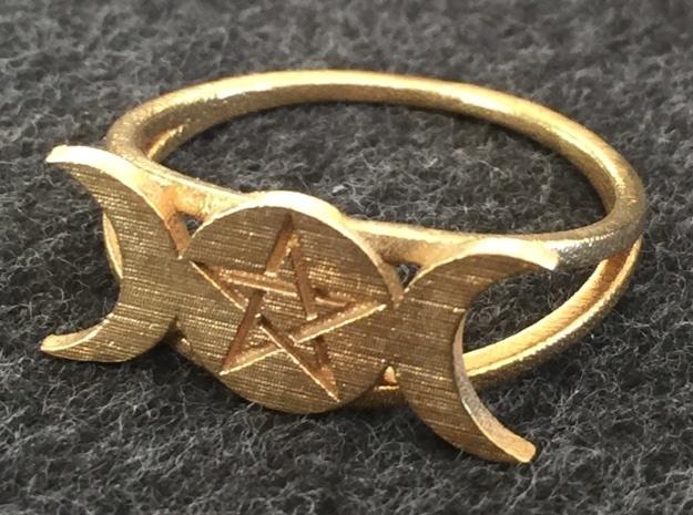Triple Moon Ring (customize)