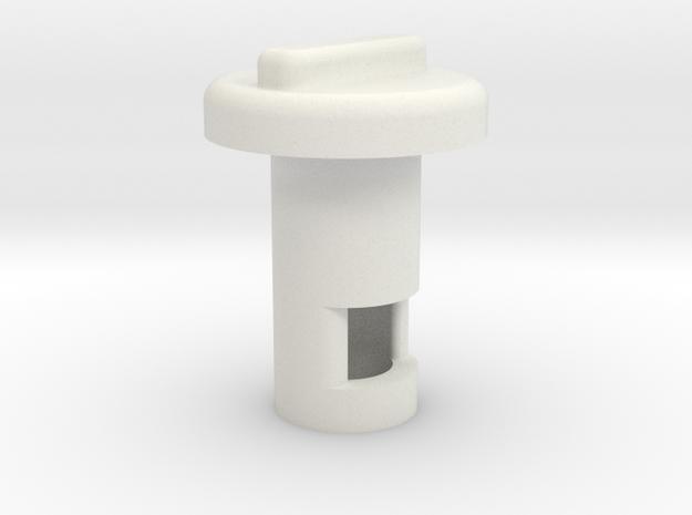 Kill Key V2 in White Natural Versatile Plastic