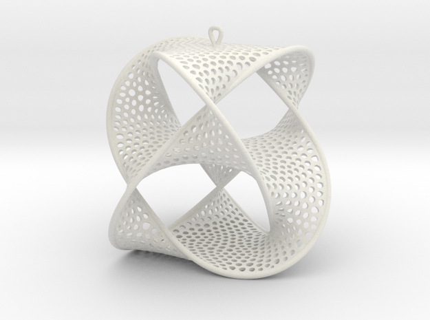 Borromean (ear) rings 3d printed