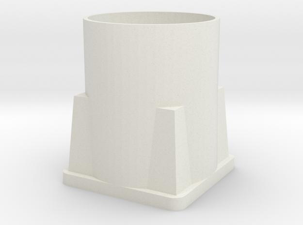 Phase Annulus in White Natural Versatile Plastic