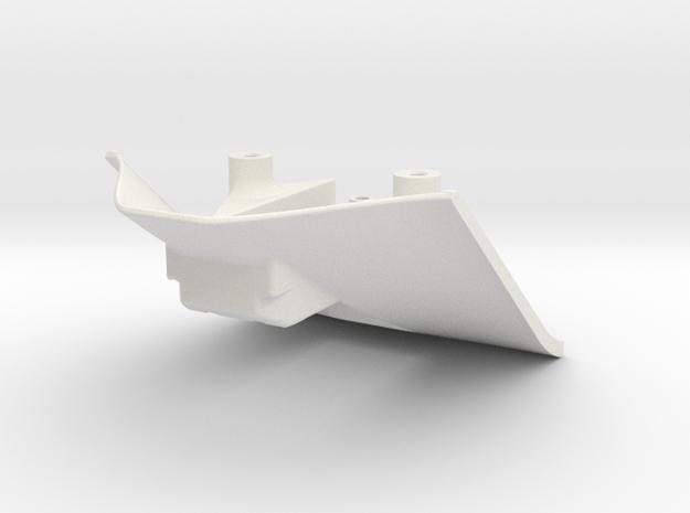 Aeroholder (671only) in White Natural Versatile Plastic