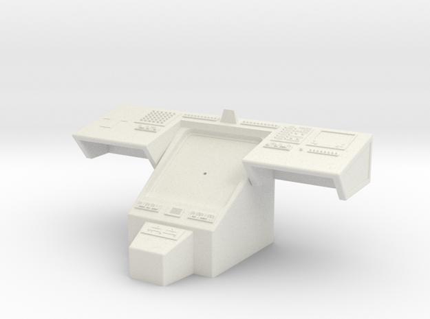 Bridge - Helm Nav Station 09 in White Natural Versatile Plastic