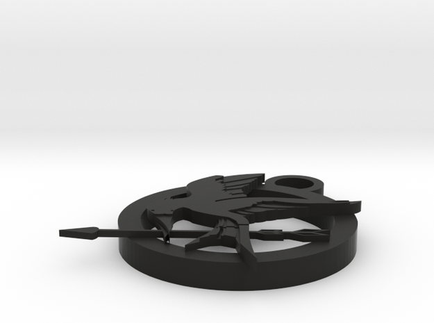 Project 1 Hunger Games  in Black Natural Versatile Plastic