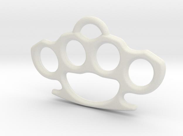 Brass knuckle Pendant