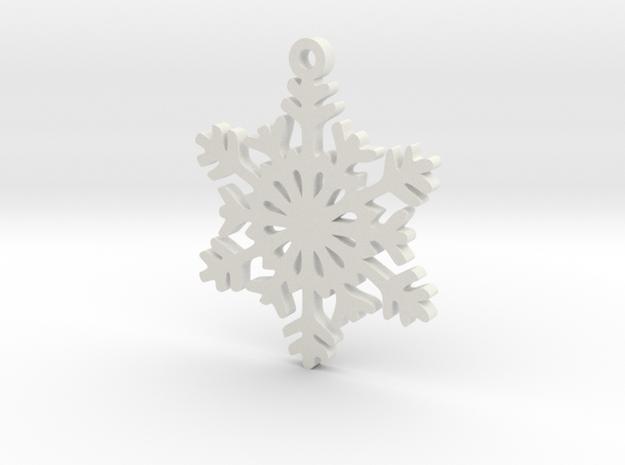 Snow Crystal Earring