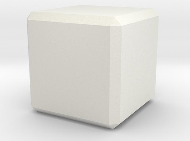 Custom Cube in White Strong & Flexible
