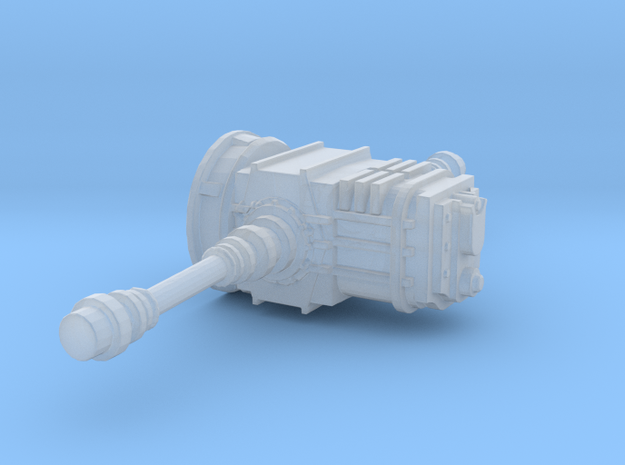 1/24 1/25 Transaxle in Smooth Fine Detail Plastic