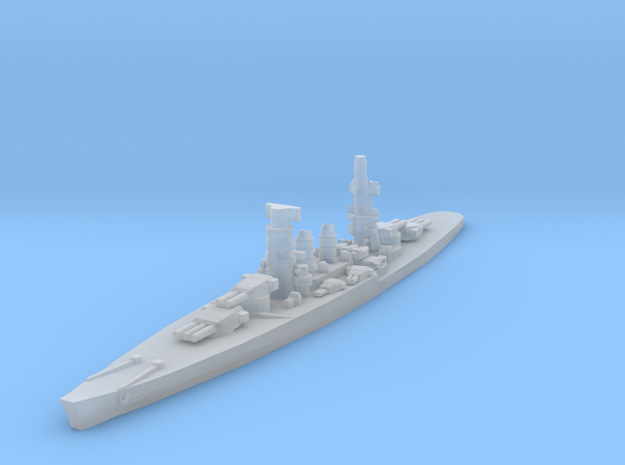 Conte di Cavour battleship 1/4800 in Smooth Fine Detail Plastic