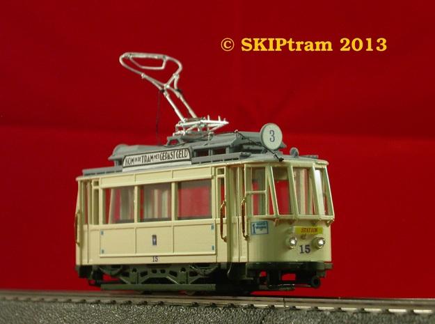 GETA 14-21 Allan Tram Carbody In H0  3d printed