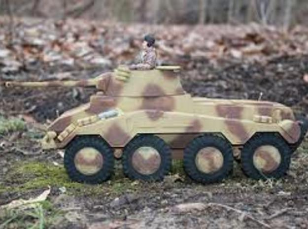 German 1:18 Sd.Kfz. 234/2 Puma Wheels 3d printed