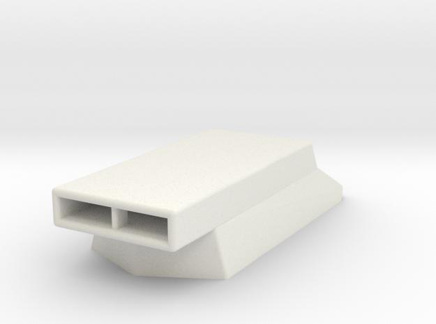 HoodScoop 1/18 V3 in White Natural Versatile Plastic