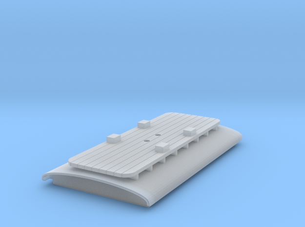 Pantograph Roof for N Scale B-W Steeplecab in Smooth Fine Detail Plastic
