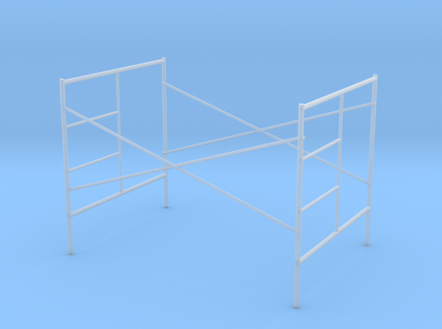1:48 Step Frame Assembly 60x84x60 in Smooth Fine Detail Plastic