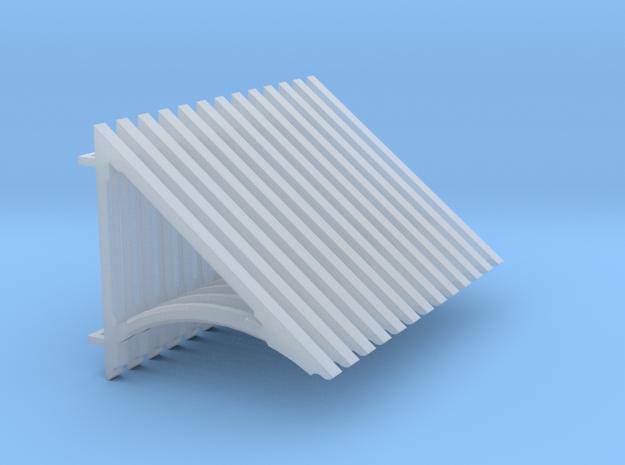 1-64 Psgr Roof Bracket in Smooth Fine Detail Plastic