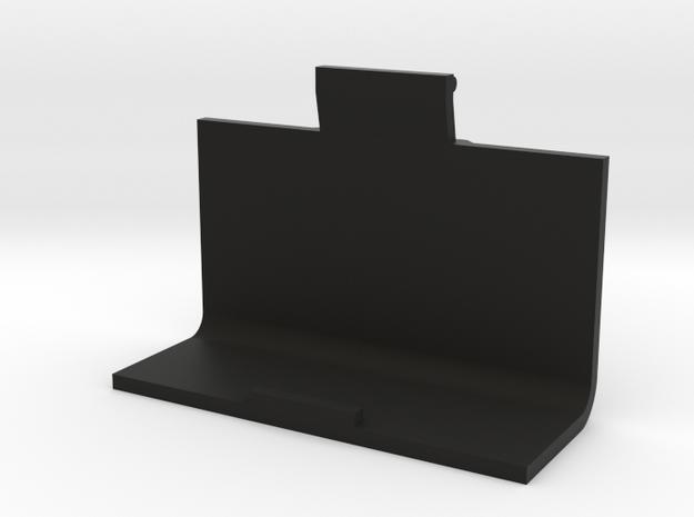 ActivaDose II Battery Compartment Door in Black Strong & Flexible