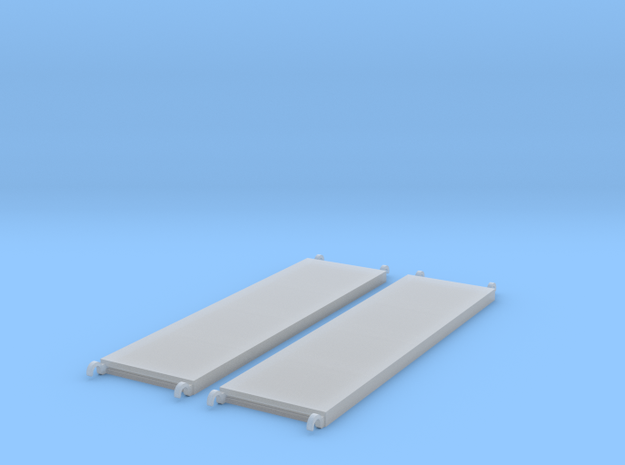 1:48 84x22 Walkboards in Smooth Fine Detail Plastic