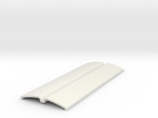 Lomma Xerion Sadldle Trac Part 2 in White Natural Versatile Plastic