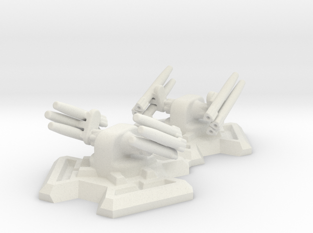 Missile Turret X2 (6mm Scale)