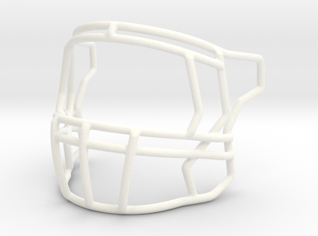 Speed Mask New base in White Strong & Flexible Polished