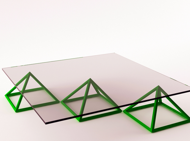 PyrAmid Table(OnFire) customizeable 3d printed