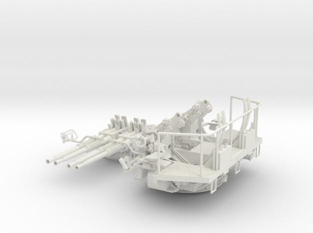 1/32 40mm Bofors Quad mount in White Strong & Flexible