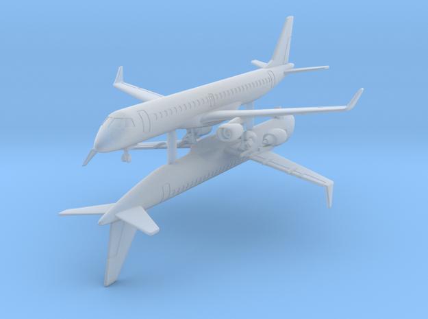 1/700 Embraer 195 w/Gear x2 (FUD)
