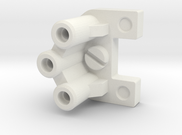 Hengstler Counter Connector in White Natural Versatile Plastic