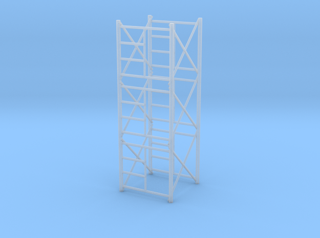 1/64 Scaffolding 3 high in Smooth Fine Detail Plastic