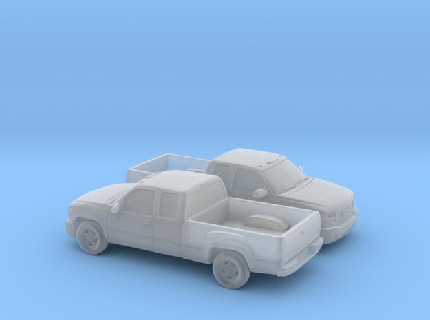 1-160 2X 1999-02 GMC Sierra Extendet Custom in Smooth Fine Detail Plastic