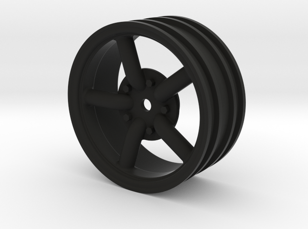 Mach 5 2.2 Wheel with 12mm hex +3mm offset in Black Strong & Flexible