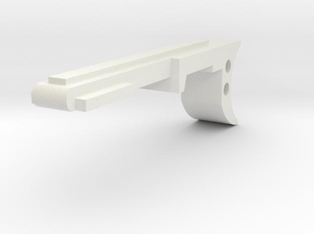 GL40 Trigger (Part4 of 6) in White Natural Versatile Plastic