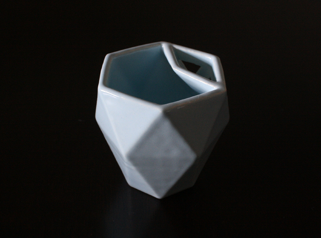 Geometric Cup 3d printed