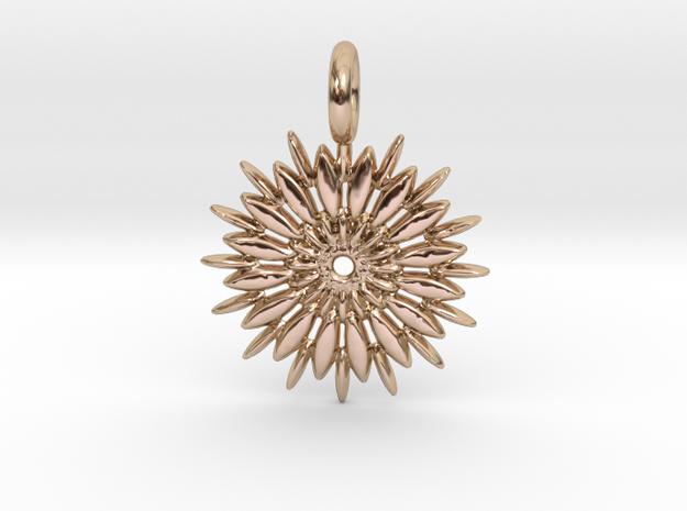 Jasmine Sambac is extraordinary in 14k Rose Gold