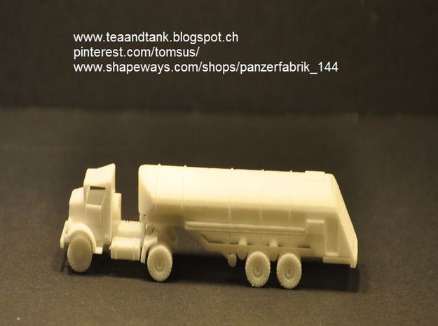 1/144 F-1 Fuel Trailer for Autocar Tractor