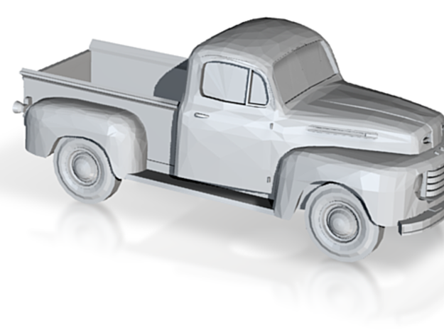 110,46 mm 1948-52 Ford PickUp in White Natural Versatile Plastic
